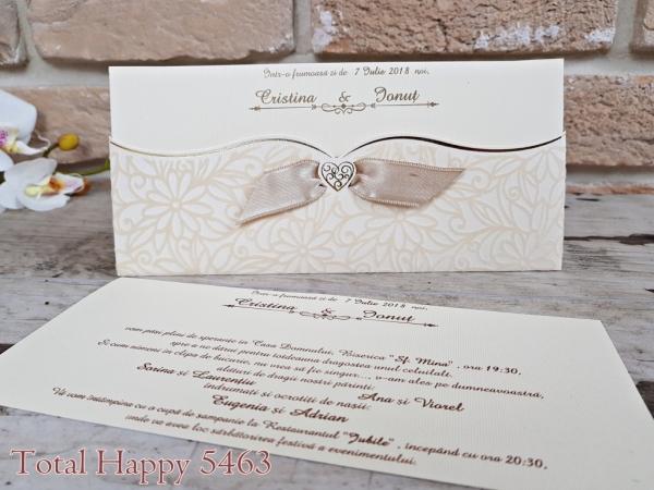 Invitatie nunta cod 5463