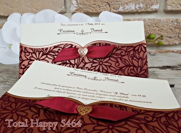 Invitatie nunta cod 5464 0