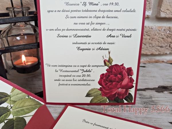 Invitatie nunta cod 5566