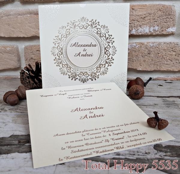 Invitatie nunta cod 5535 0