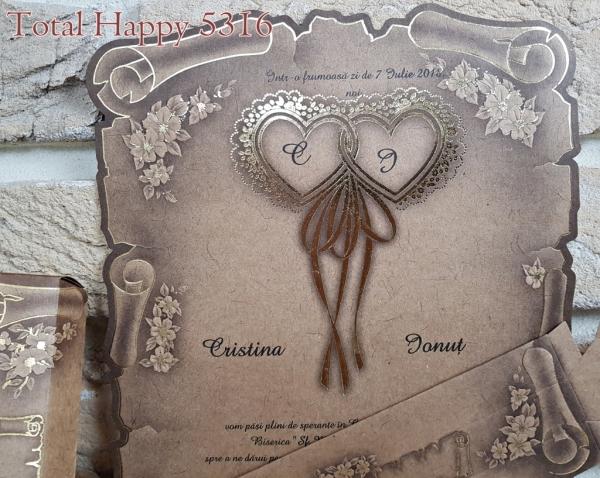 Invitatie nunta cod 5316