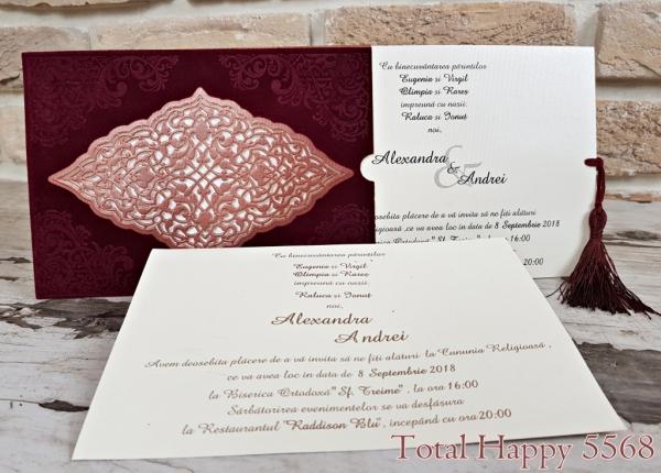 Invitatie nunta cod 5568 0