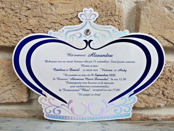 Invitatie Botez cod 6193
