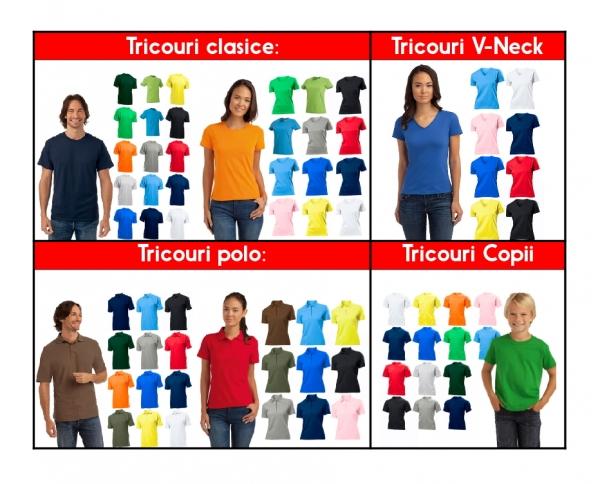 Set Tricouri Cuplu Personalizate - Te iubesc cu Nume si Poza 2