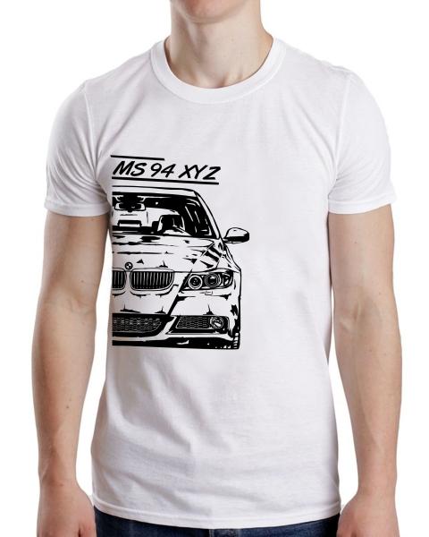 Tricou Auto - BMW E90 Personalizat cu Nume sau Numar 0