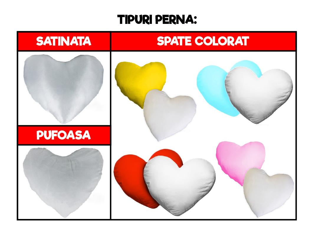 Perna Inima Personalizata Cu Poza In Inimioare